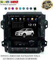 Toyota Fortuner Navigation Tesla Panel