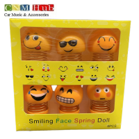 Smiling Face Spring Doll