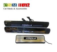 Corolla Scuff Plates - With Rotating Lights