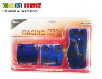 Pedal Cover Blue & Black Circle - MT-03