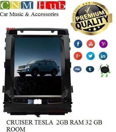 Toyota Land Cruiser Tesla Panel