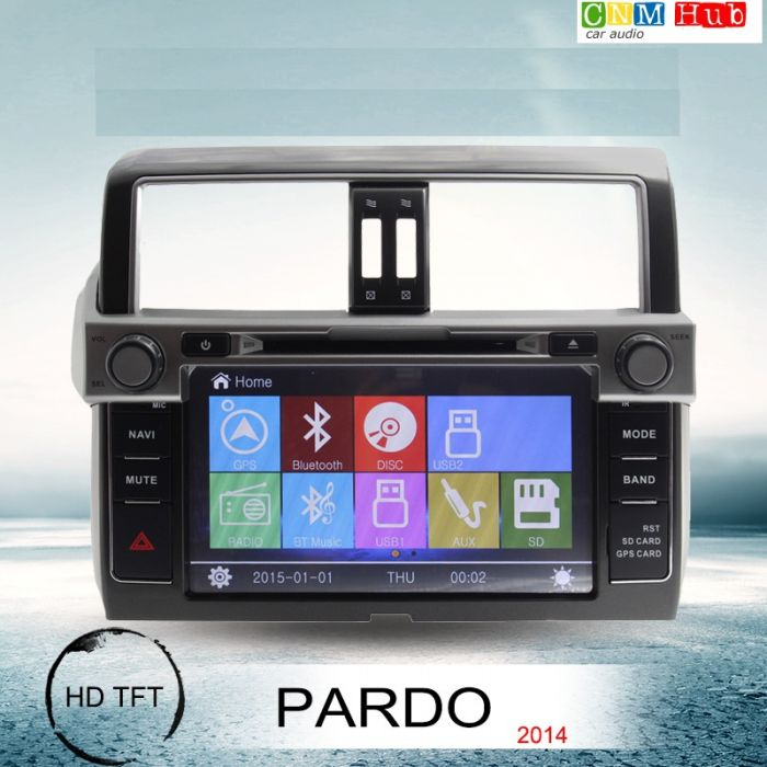 Toyota Prado Android Navigation Panel 2014
