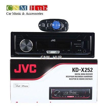 JVC KD-X252 Digial media Receiver