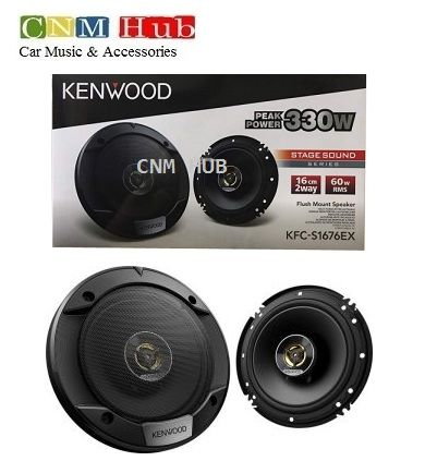 KENWOOD KFC-S1676EX 2 way high quality stage sound speaker 330 Watt